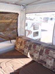 Outback deck inside
