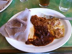 Cafe Desta lunch special