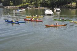 ME kayak group