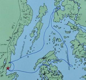 Isaac Evans map