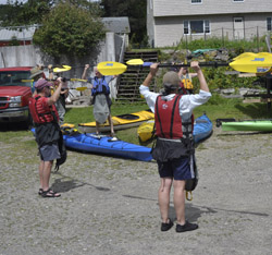 ME Kayak paddle