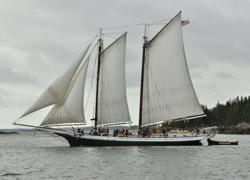 IE schooner under sail