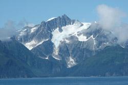 Kenai F glacier
