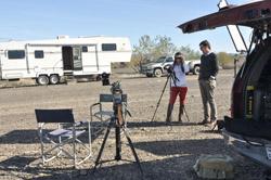 CBS film crew E& L