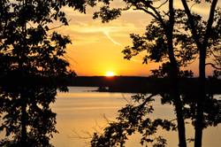 WK Rendezvous Lake sunset