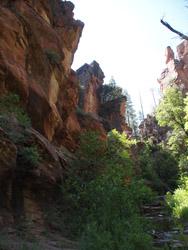 Sedona scenes Oak Creek canyon2