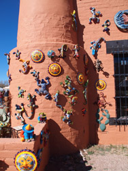 Tubac wall creatures