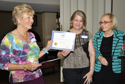 Jaimie Bruzenak APW award 2012