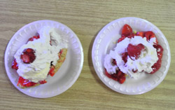 Strawberry Fest desserts