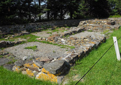 Colonial Pemaquid frt ruins