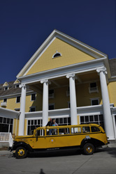YNP1 Lake Hotel & bus