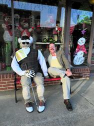 Scarecrows golfer w GM