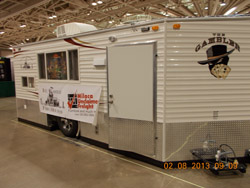 MN RV Show fish house