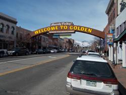 Coors Golden sign