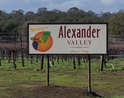 Alex Valley sign