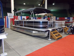 DEN2  fishing pontoon