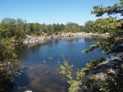 Vinalhaven Lawson quarry