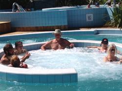 Hanmer Hot Springs- G hot tub